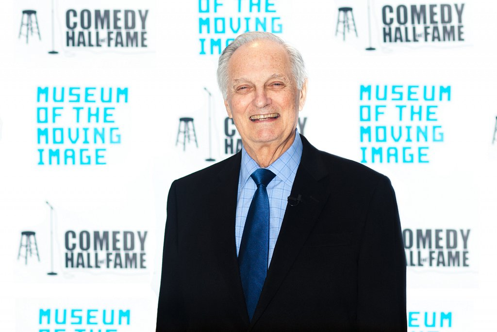 Alan Alda at The Museum of the Moving Image