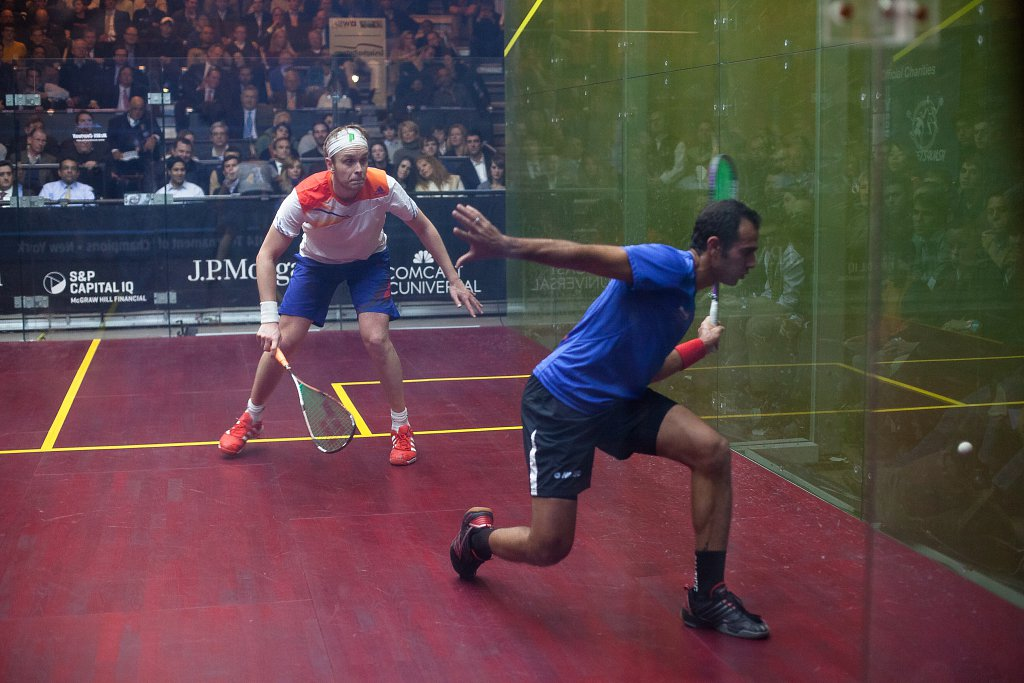 Squash Tournament of Champians, Grand Central