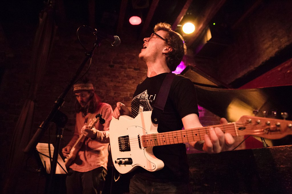 Tim Haufe @ Rockwood Music Hall, January 2016