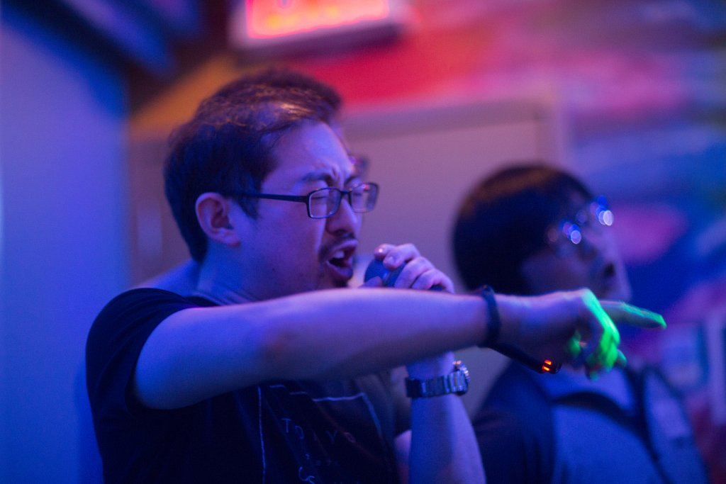 Karaoke with Coworkers