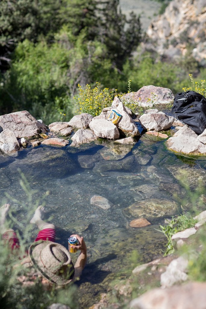 Goldbug Hotsprings, ID