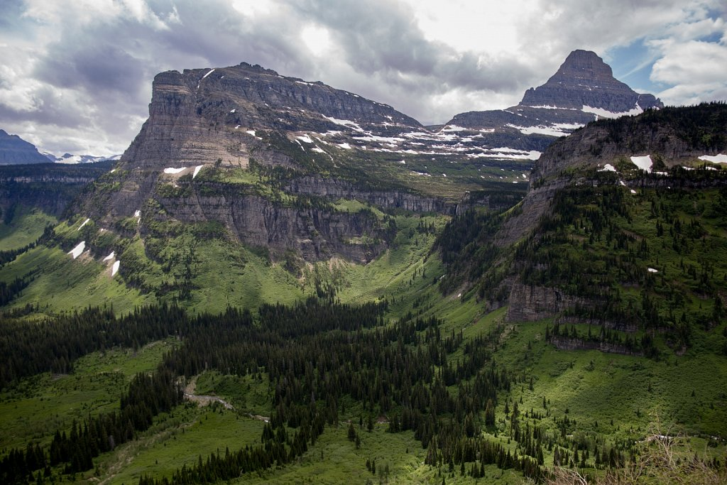 Going-to-the-Sun Road, Glacier NP