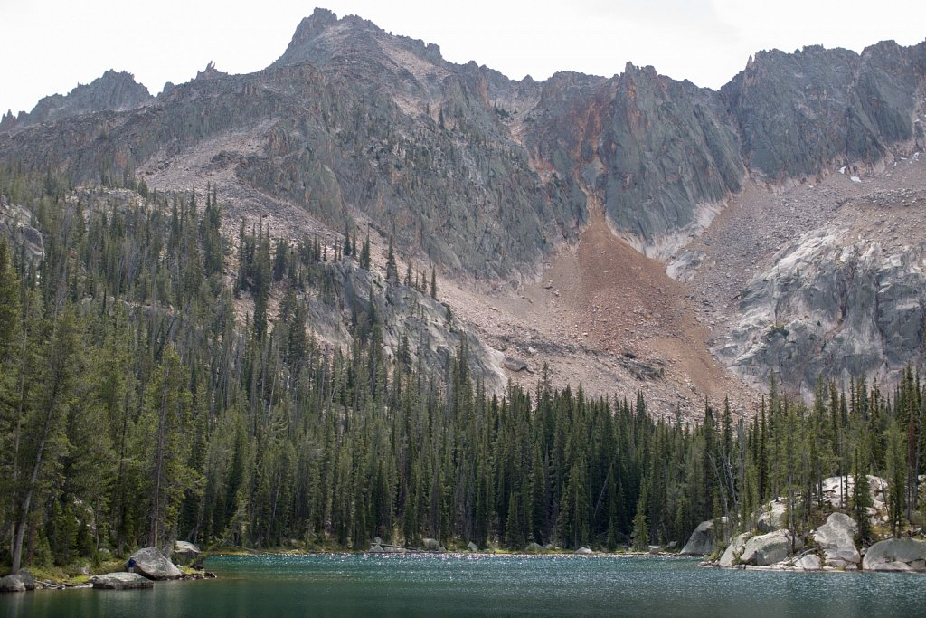 Hiking Redfish Lake